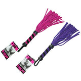 Bound To Tease Mini Suede Flogger   Purple