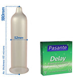 Pasante Delay Condoms 3 Pack