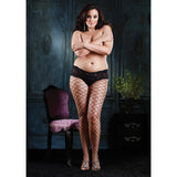 Leg Avenue Plus Size Diamond Pantyhose
