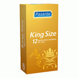 Pasante King Size Condoms   12 Pack