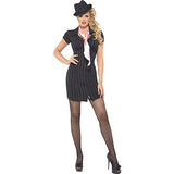 Fever Gangster Lady Costume   Small