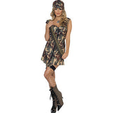 Fever Army Girl Costume   Medium