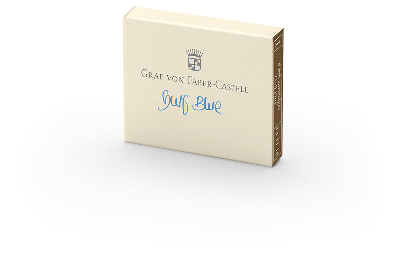 Graf von Faber-Castell Ink Cartridges box of 6 - Graf von Faber-Castell -  L.S.F. Group of Companies