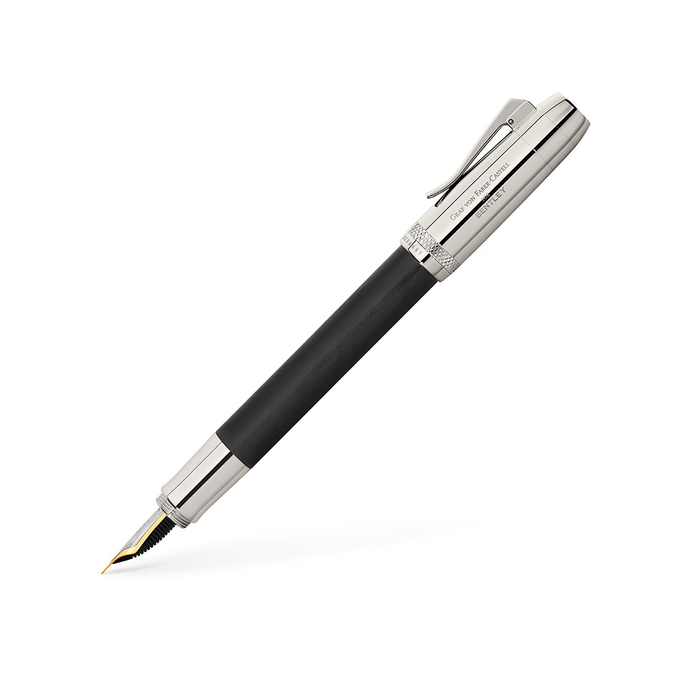 Graf von Faber-Castell Bentley Ebony Fountain Pen