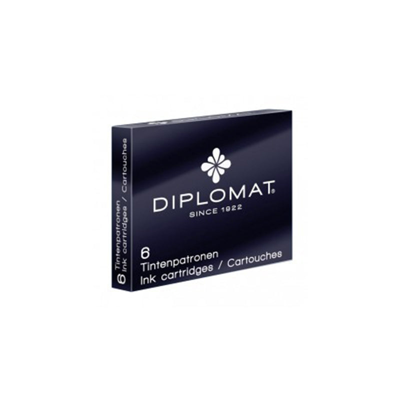 Diplomat Ink Cartridges - Diplomat - Colour Black - House of Fine Writing - Toronto, Canada