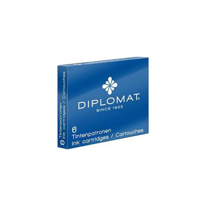 Diplomat Ink Cartridges - Diplomat - Colour Blue - House of Fine Writing - Toronto, Canada