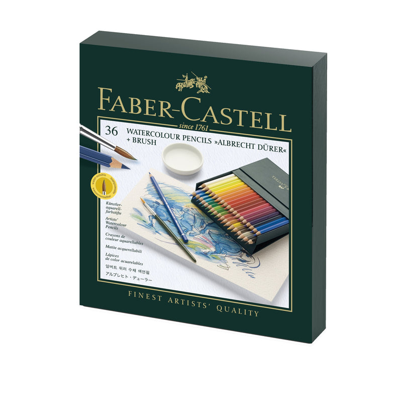 Faber-Castell Albrecht Duerer - Watercolour Pencils - Studio box of 36 - House of Fine Writing - Toronto, Canada
