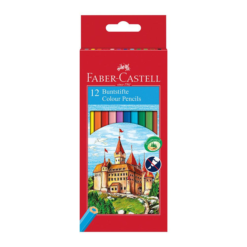 Faber-Castell Classic Colour Pencil Box of 12 - Faber-Castell - House of Fine Writing - Toronto, Canada