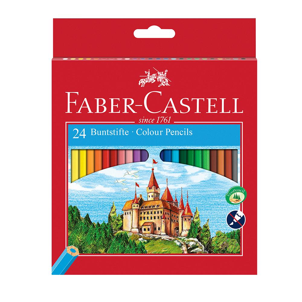 Faber-Castell Classic Colour Pencil Box of 24 - Faber-Castell - House of Fine Writing - Toronto, Canada