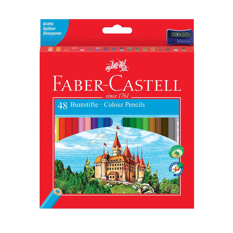 Faber-Castell Classic Colour Pencil Box of 48 - Faber-Castell - House of Fine Writing - Toronto, Canada