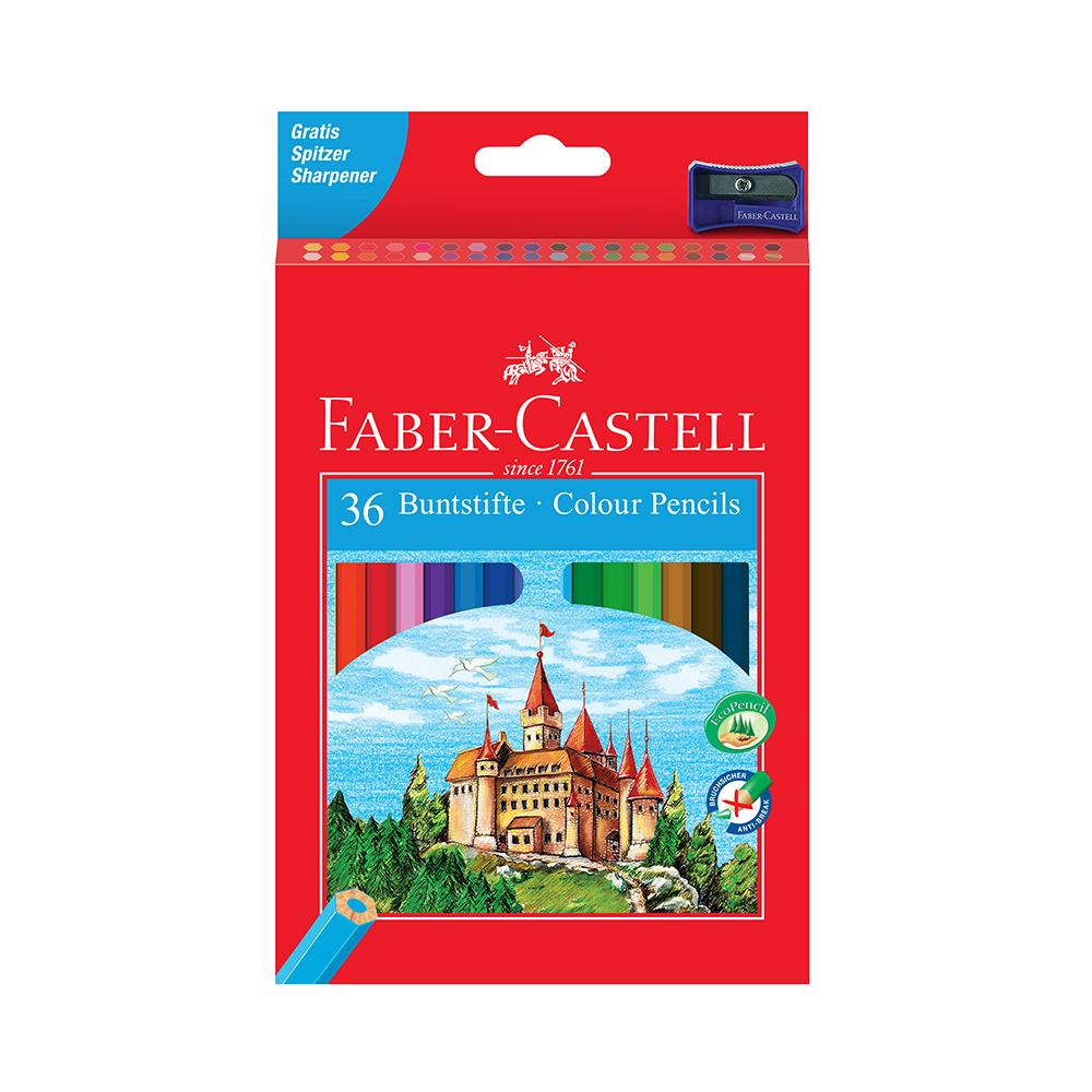 Faber-Castell Colour Pencils box of 36 - Faber-Castell - House of Fine Writing - Toronto, Canada