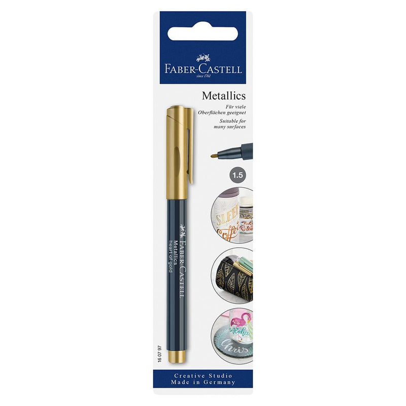 Faber-Castell Creative Studio Metallic Marker - Faber-Castell - Colour Gold - House of Fine Writing - Toronto, Canada