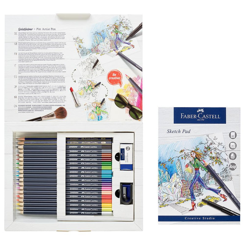 Faber-Castell Goldfaber Colour Pencil Gift Set - Faber-Castell - House of Fine Writing - Toronto, Canada