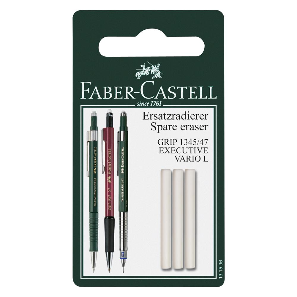 Faber-Castell Grip 1347/47 Mechanical Pencil Spare Eraser Set of 3 - Faber-Castell - House of Fine Writing - Toronto, Canada