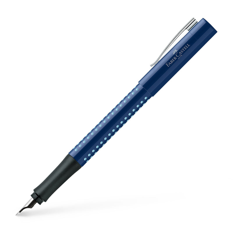 Faber-Castell Grip 2010 Fountain Pen - Faber-Castell - Colour Blue - House of Fine Writing - Toronto, Canada