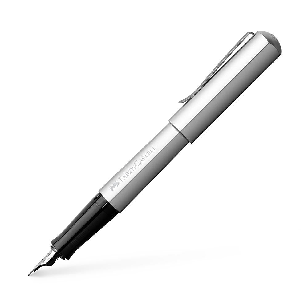 Faber-Castell Hexo Fountain Pen - Faber-Castell - Colour Silver - House of Fine Writing - Toronto, Canada