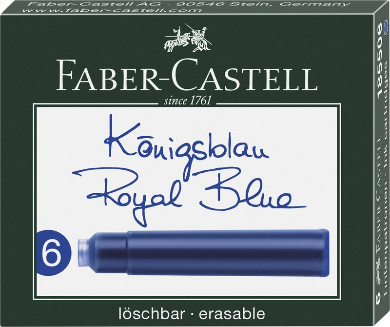 Faber-Castell Ink Cartridges - Faber-Castell - Colour Blue - House of Fine Writing - Toronto, Canada