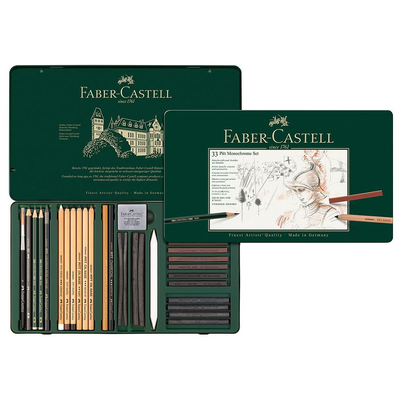 Faber-Castell Monochrome Set Large - Faber-Castell - House of Fine Writing - Toronto, Canada