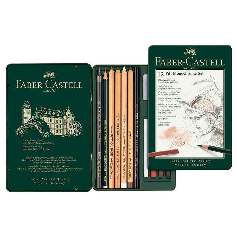 Faber-Castell Monochrome Set Small - Faber-Castell - House of Fine Writing - Toronto, Canada