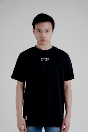 S-T-U-F Black Phantom T-shirt