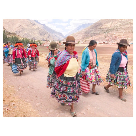 Weaving is life in the Sacred Valey of the Incas