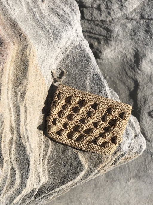 Handwoven Bubble Pouch