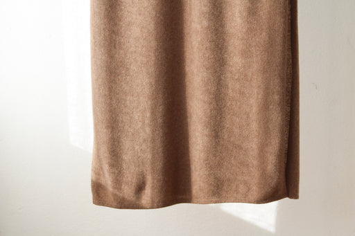 Fine Cashmere Scarf - Brown