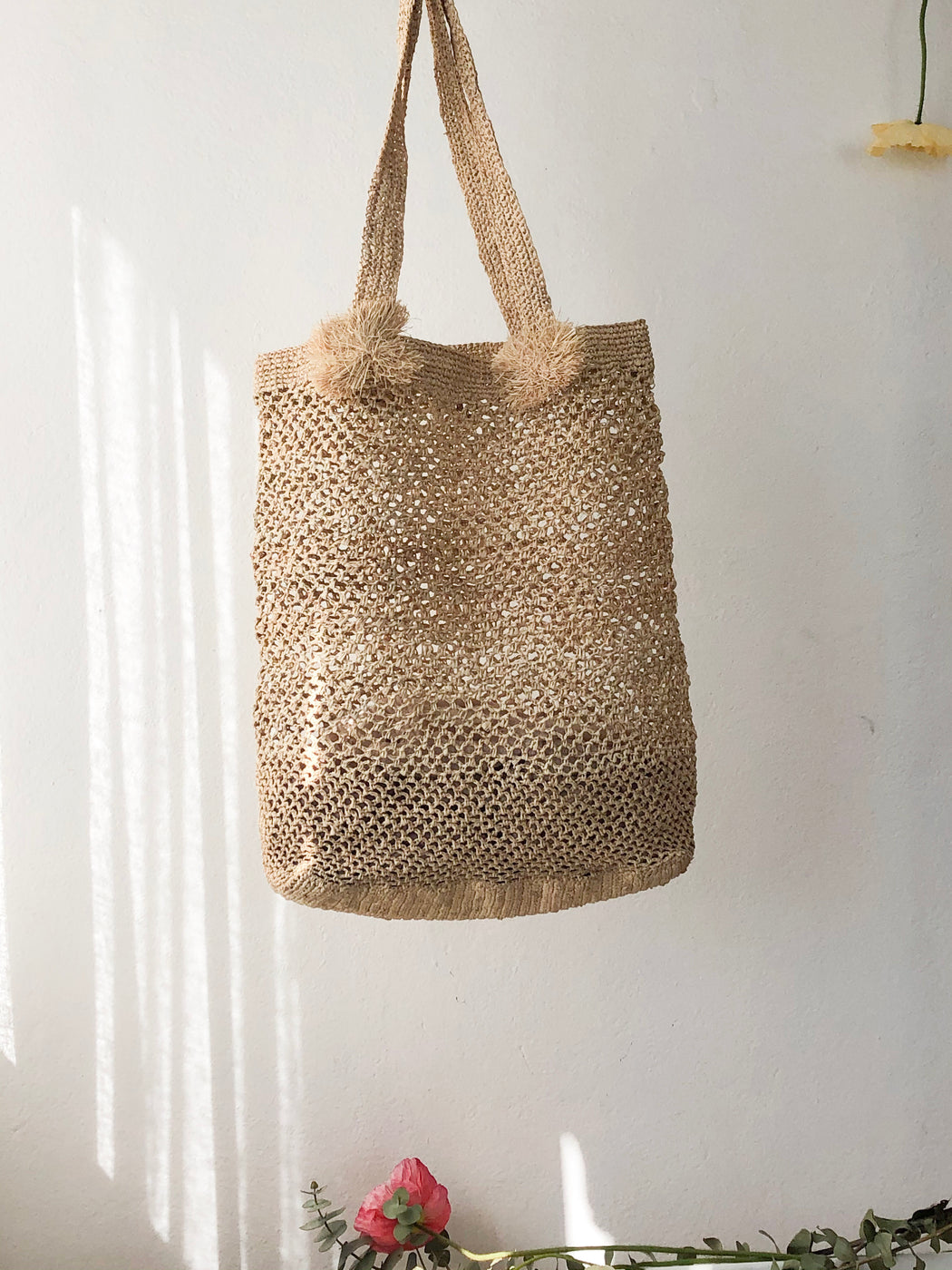 MALA WOVEN BAG IN NATURAL