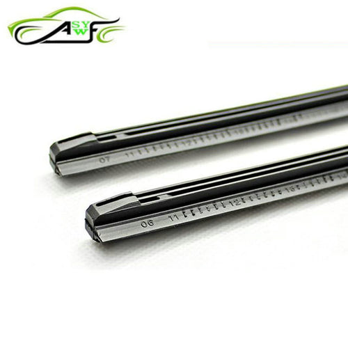2 piece High Quality Car Wiper Blade Windscreen Strips Soft Wipers Rubber Size (8mm) 14