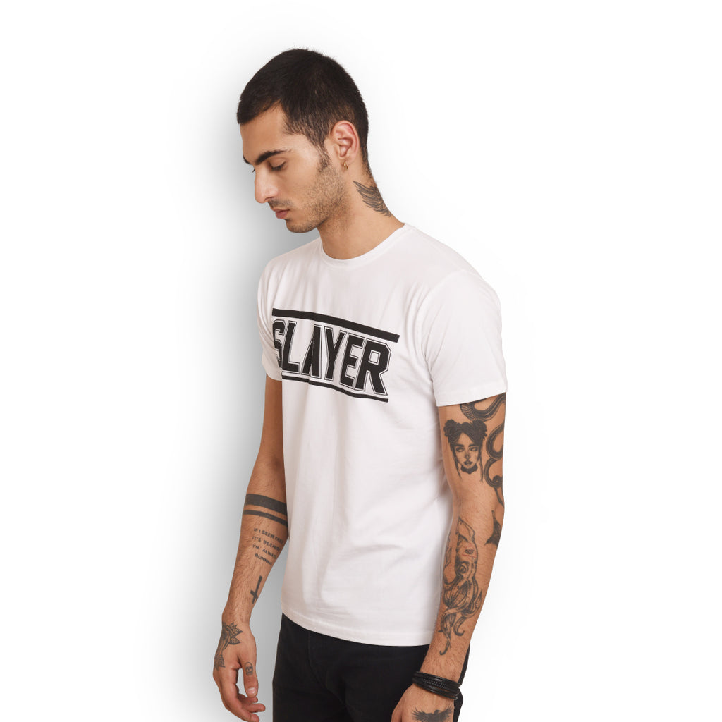 Slayer - Men (White)