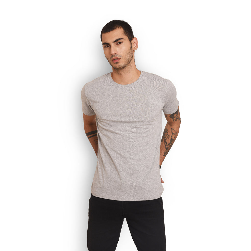 Basic - Men (Grey T Shirt)