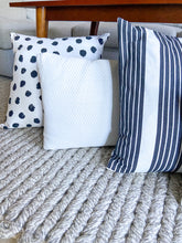 Load image into Gallery viewer, Naomi Chevron Lumbar Pillow Cover