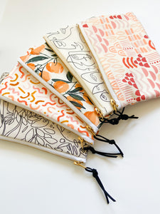 Lavender Doodles Carry-All