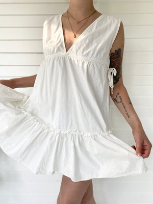 White Babydoll Dress