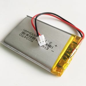Battery  Rechargeable (Fits Steam Pod) LiPo 3.7V 1000mAh 503450