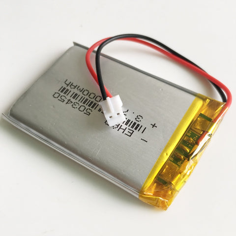 Battery Rechargeable LiPo 3.7V 1000mAh 503450 - Fits Steam Pod