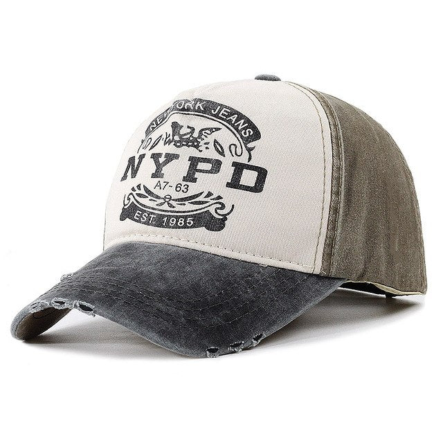 Vintage NYPD Baseball Cap – Superfly Operations 3d6d6f304e5