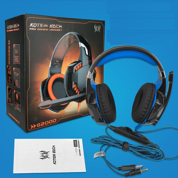 Kotion Each G2000 Pro Game Gaming Headset 35mm Led Stereo Pc Headphon
