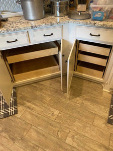 Slide out shelf, slide out pantry, pull out shelf, pull out basket,