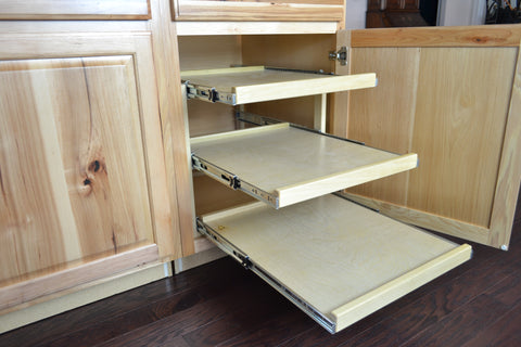 Triple Shelf Pull Out #017