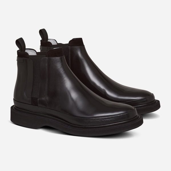 ULTRA CHELSEA BOOT BLACK LEATHER