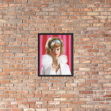 Gala Abend Barbie Enhanced Matte Paper Framed Poster (in)