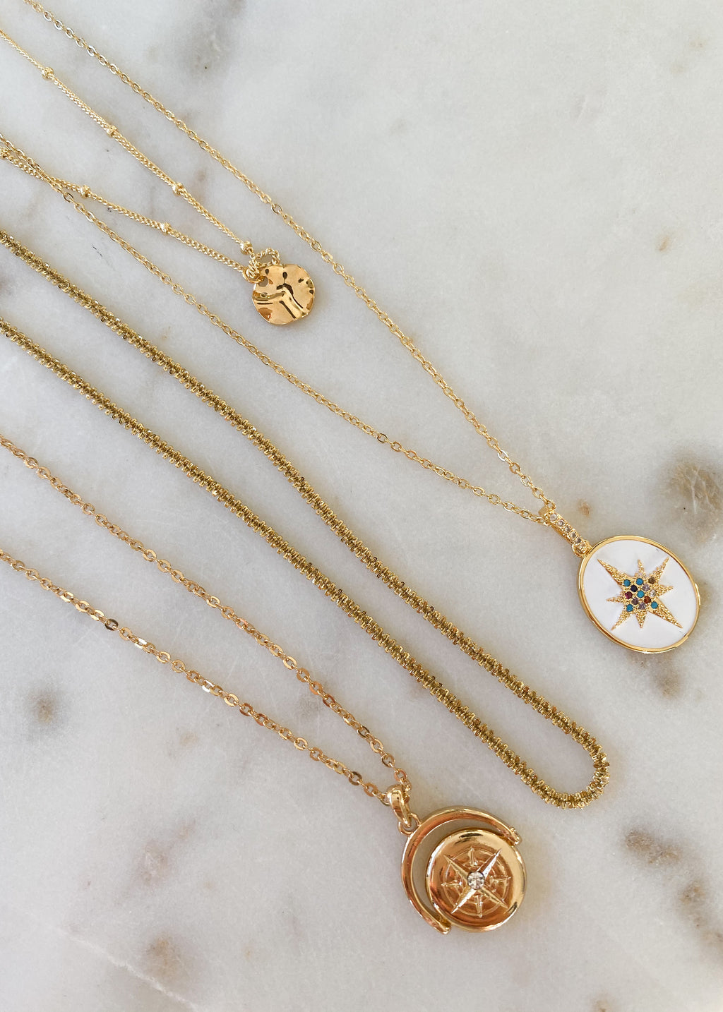 18K Gold Plated, Atlas Necklace - JT LUXE