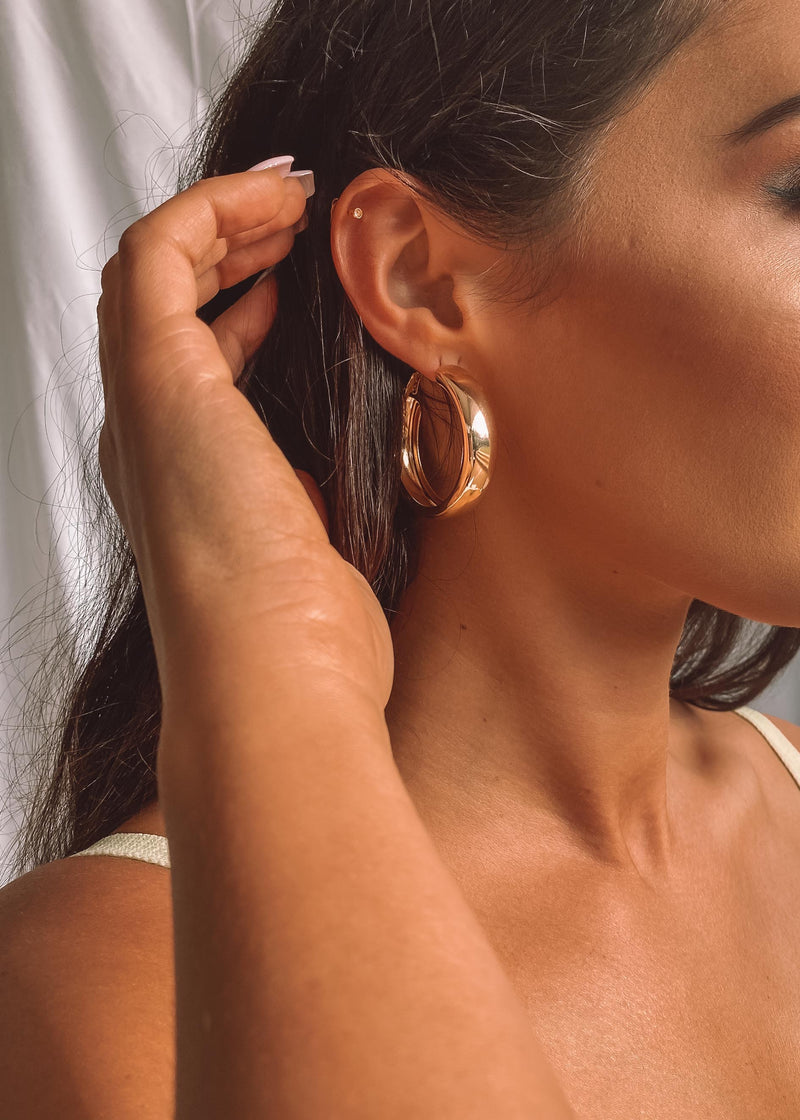 Glam Earring - Gold