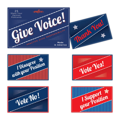 Give Voice Postcard Pack