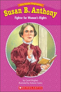 Susan B. Anthony- Fighter... by Ghiglieri