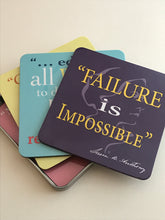 Load image into Gallery viewer, Coaster Set- Quotes