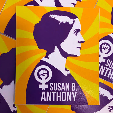 Susan B. Anthony Dellarious Sticker