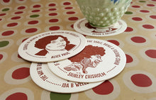 Load image into Gallery viewer, Inspiring Women Coaster Set