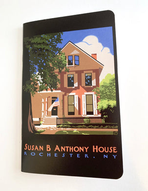 Mini Notepad- Wilder House Print